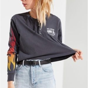 Future State Flame Henley Top